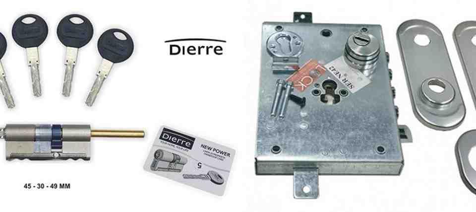 cerraduras dierre 960x427 - Servicio tecnico instalación Cerraduras Dierre
