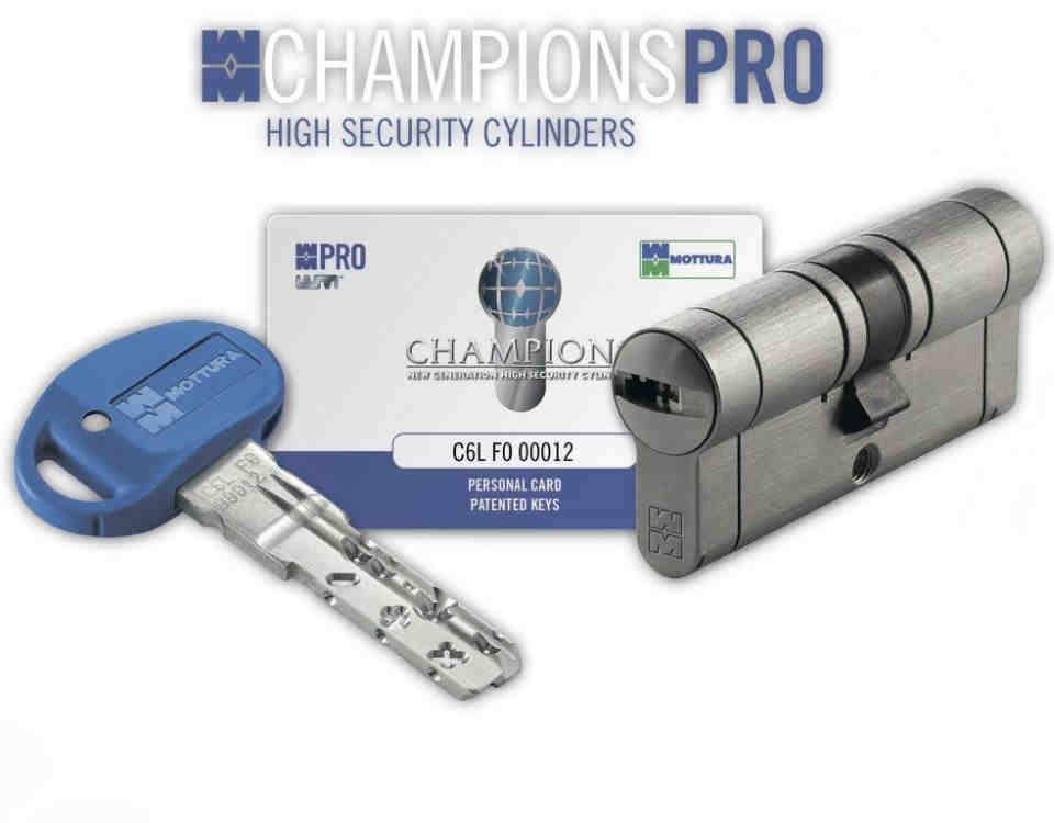 cilindro mottura champions pro 960x750 - Servicio de Cerraduras de Seguridad de Mottura Champions